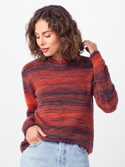 b.young Pullover 'MAKIO' in rot, Modelansicht
