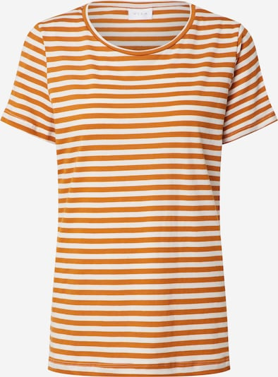 VILA Shirt 'VISUS' in orange / weiß, Produktansicht