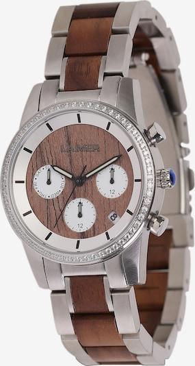 LAiMER Uhr 'Kim' in braun / silber, Produktansicht