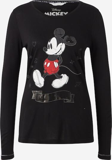 Frogbox T-shirt 'Mickey' en rouge / noir / blanc, Vue avec produit