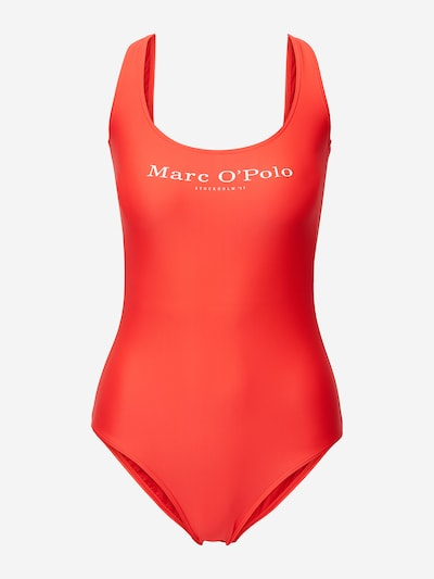 Marc O'Polo Badpak ' Solids ' in de kleur Rood, Productweergave