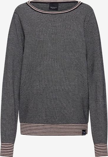 Iriedaily Pull-over 'Cape Verde Knit' en rose pastel / noir / blanc, Vue avec produit