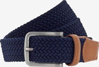 VANZETTI Gürtel 35 mm in navy / braun, Produktansicht