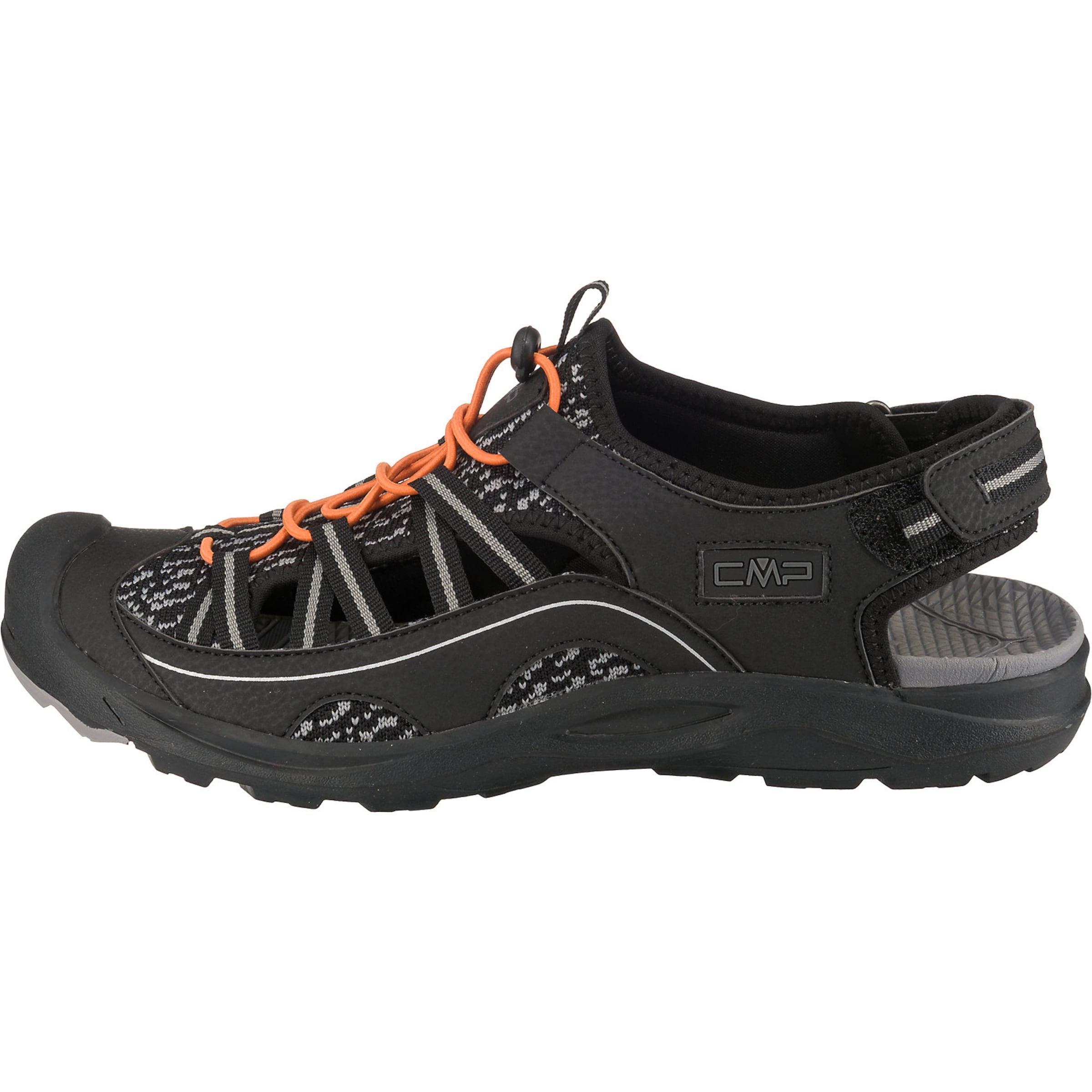 Cmp Sandal GrauSchwarz In 'adhara Hiking' 1TFlK3Jc