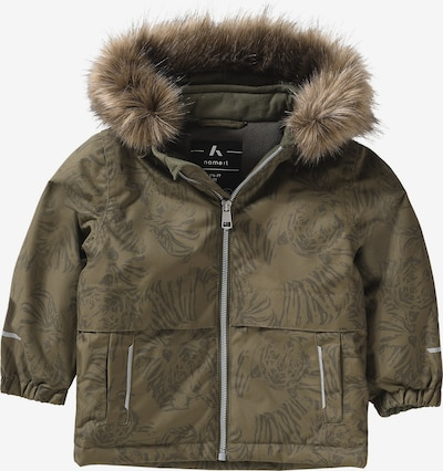 NAME IT Winterjacke 'snow08' in khaki, Produktansicht