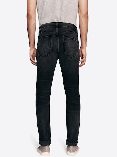 Abercrombie & Fitch Džinsi 'BTS19' pieejami melns džinsa: Aizmugures skats