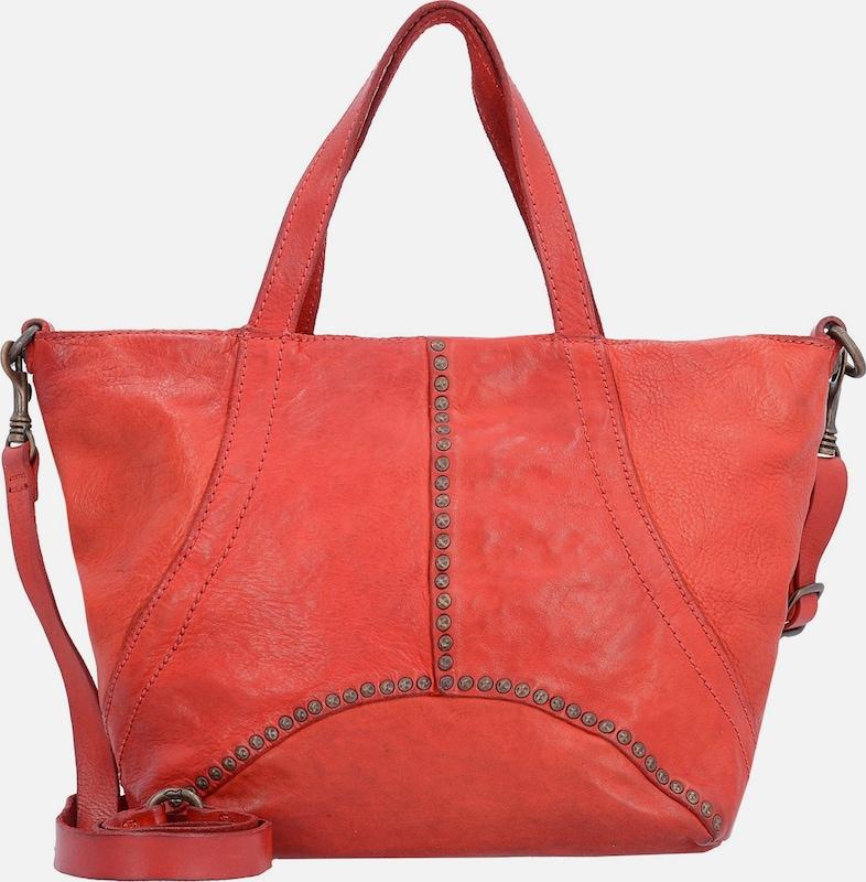 Campomaggi Traditional Handbag Leather 24 Cm