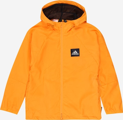 ADIDAS PERFORMANCE Jacke 'W.N.D. P.Blue B' in orange, Produktansicht