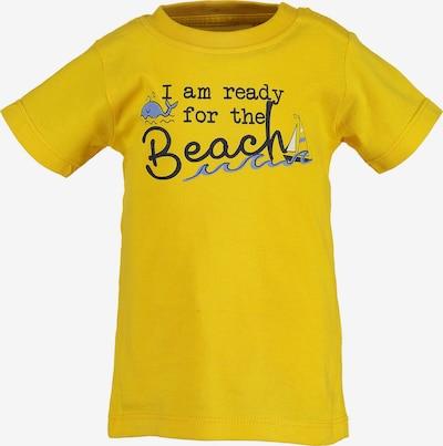 BLUE SEVEN T-Shirt in gelb / schwarz, Produktansicht