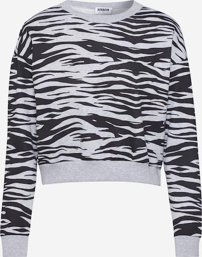 Urban Classics Sweatshirt in de kleur Grijs / Zwart, Productweergave
