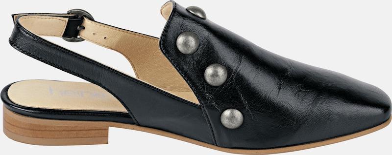 heine Slipper mit Nieten Verschleißfeste billige Schuhe