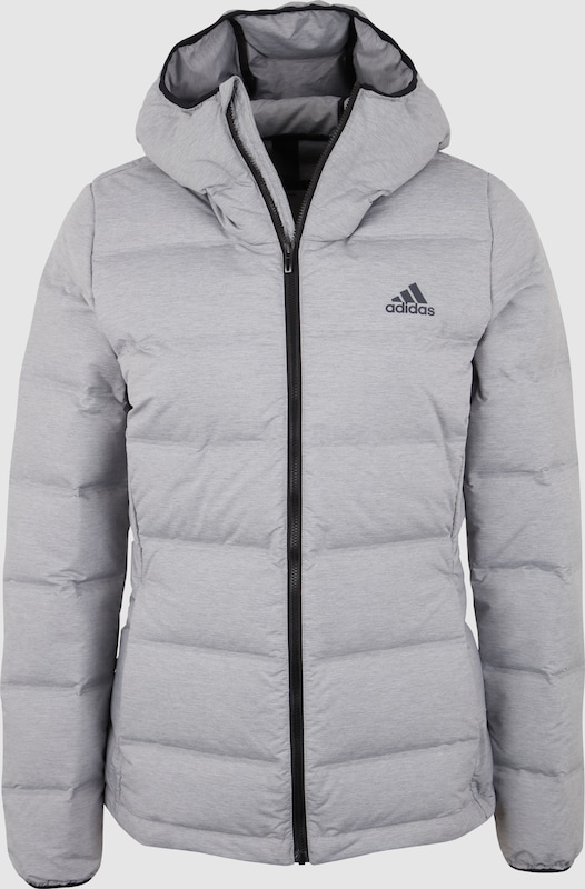 ADIDAS PERFORMANCE Jacke 'Helionic' in hellgrau | ABOUT YOU