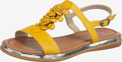 ANDREA CONTI Klassische Sandalen in gelb, Produktansicht