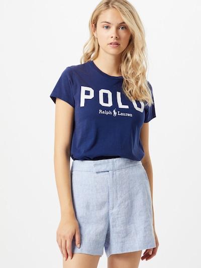 POLO RALPH LAUREN Tričko - námornícka modrá / biela: Pohľad spredu