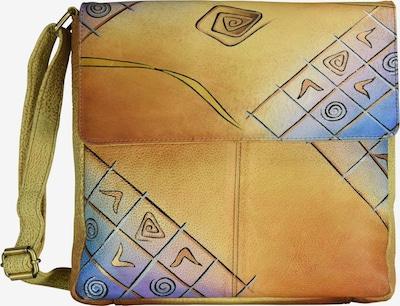 GREENLAND Art + Craft Umhängetasche Leder 29 cm in mischfarben, Produktansicht