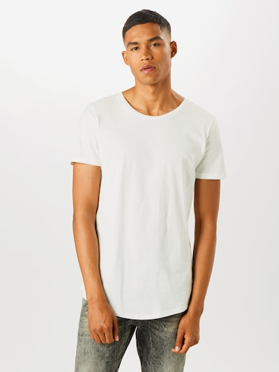 Lee T-Shirt 'Shaped' in offwhite, Modelansicht