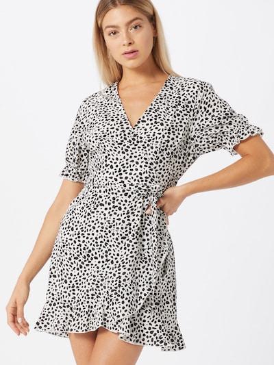 Missguided Kleid in schwarz / weiß, Modelansicht