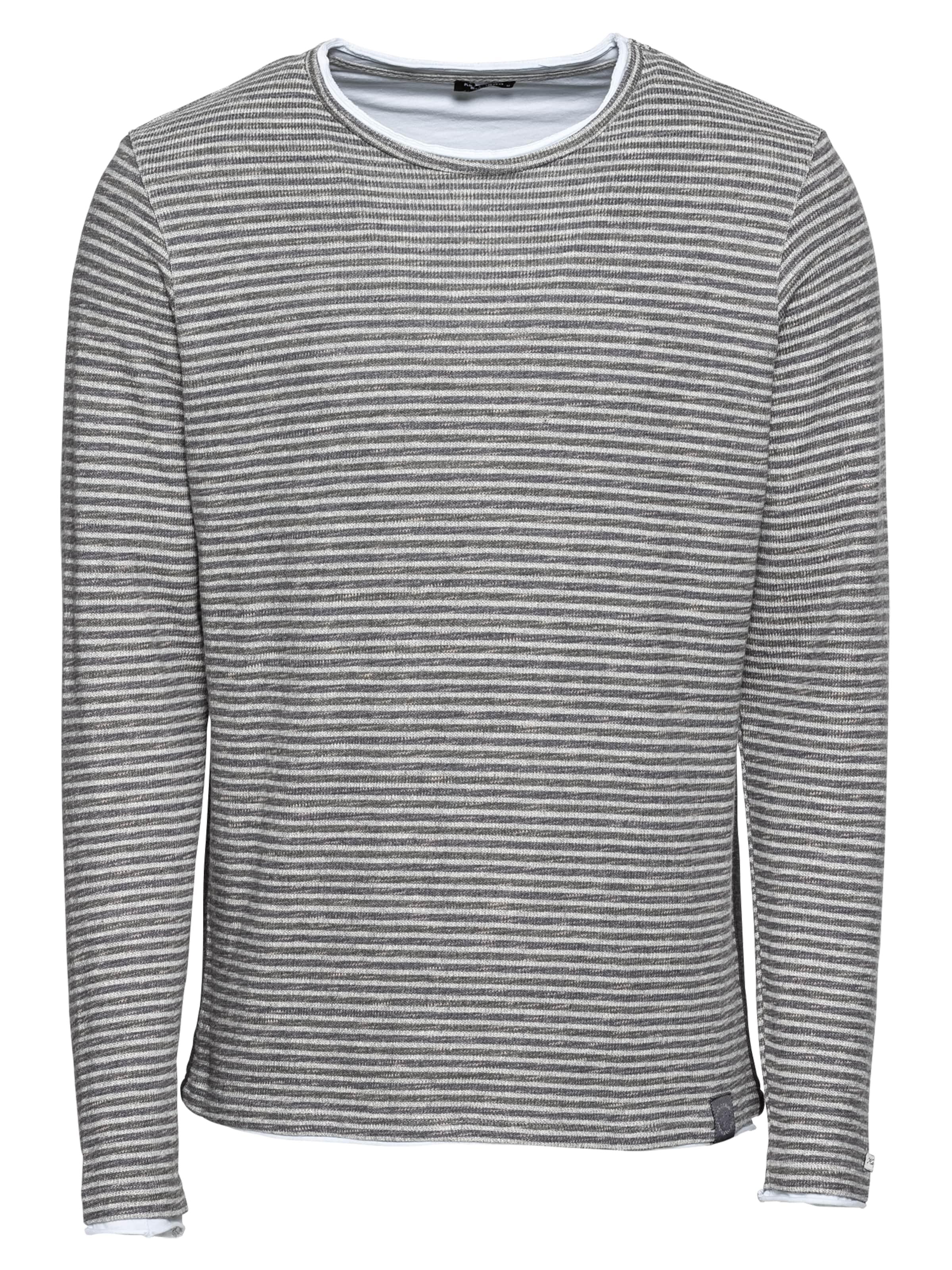 Gris Basalte shirt En Key Largo Kain Sweat Round' 'msw 0Pwkn8O