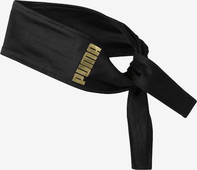 PUMA Haarband in gold / schwarz, Produktansicht
