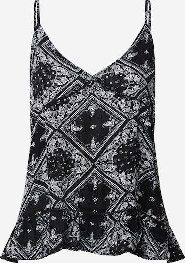 Superdry Haut en noir / blanc, Vue avec produit