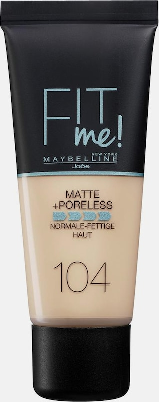 Maybelline New York Fit Me! Matte+poreless, Make-up