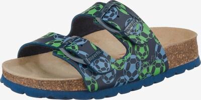 SUPERFIT Schuhe in blau / hellblau / grün, Produktansicht