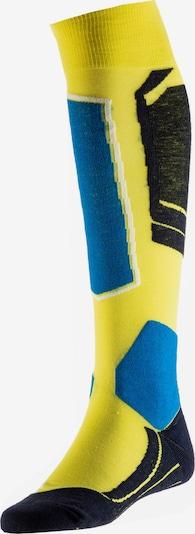 FALKE Skisocken 'SK 4' in gelb, Produktansicht