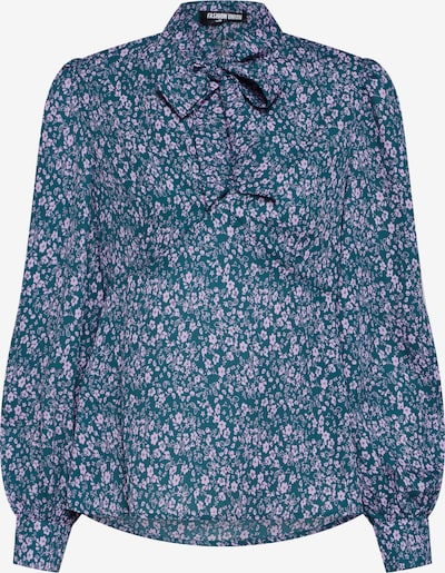 Palaidinė 'PEONIE' iš Fashion Union , spalva - šviesiai mėlyna / rožių spalva: Vaizdas iš priekio