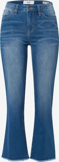 HIS JEANS Bootcut-Jeans »eco Denim« in blue denim, Produktansicht