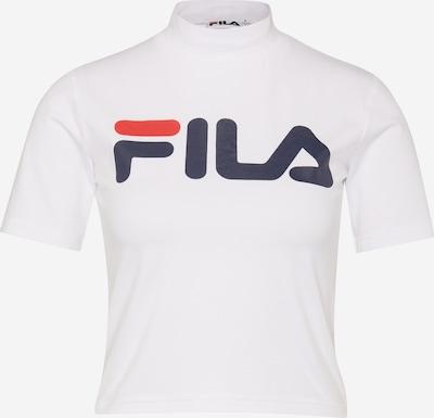 FILA Shirt in rot / schwarz / weiß, Produktansicht