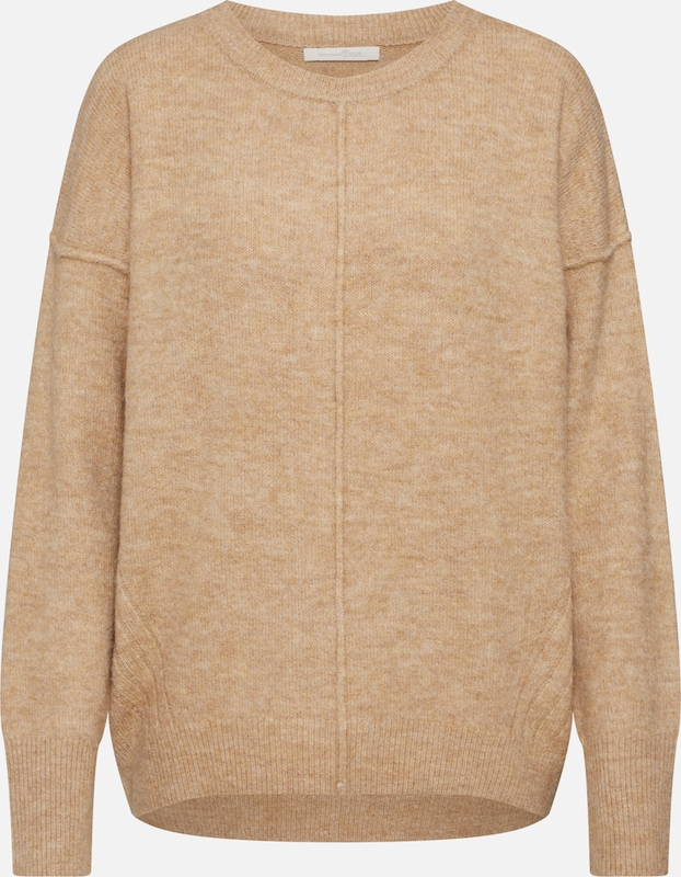 TOM TAILOR DENIM Pullover in camel, Produktansicht