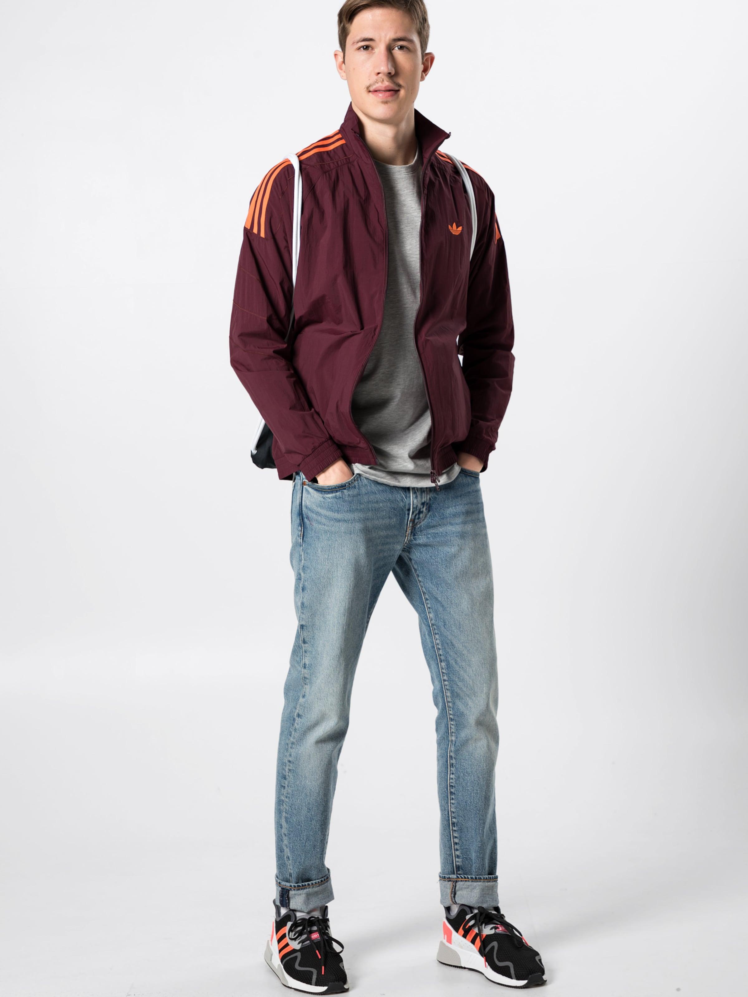 Adidas Burgunder Originals 'flamestrk Wv Tt' In Jacke PkwOZiuTX