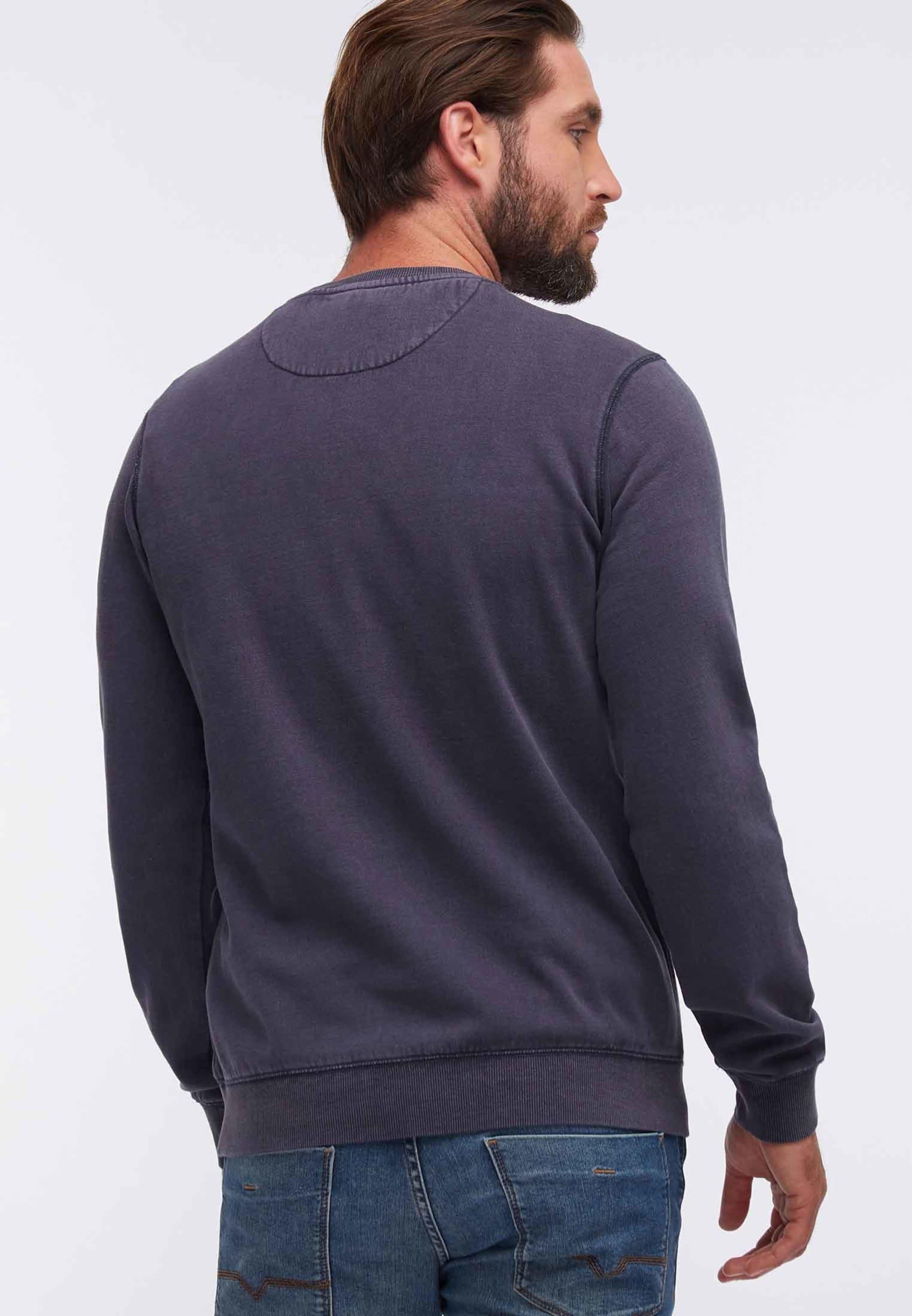 Sweatshirt Dreimaster Dreimaster Dunkellila Dunkellila Sweatshirt In Sweatshirt Dreimaster In WYHID9E2