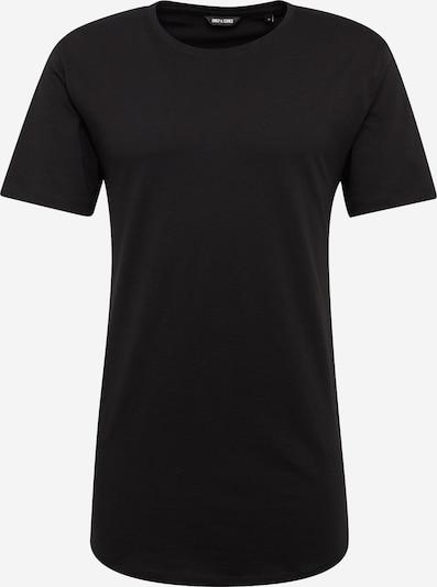 Only & Sons Shirt 'onsMATT LONGY TEE' in de kleur Zwart, Productweergave
