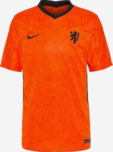 NIKE Tricot 'Niederlande 2021' in de kleur Neonoranje / Zwart, Productweergave