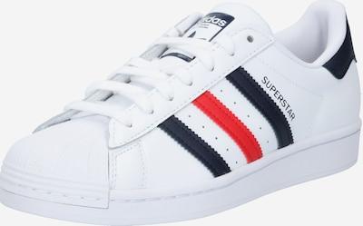 Sneaker low 'Superstar' ADIDAS ORIGINALS pe bleumarin / roșu / alb, Vizualizare produs