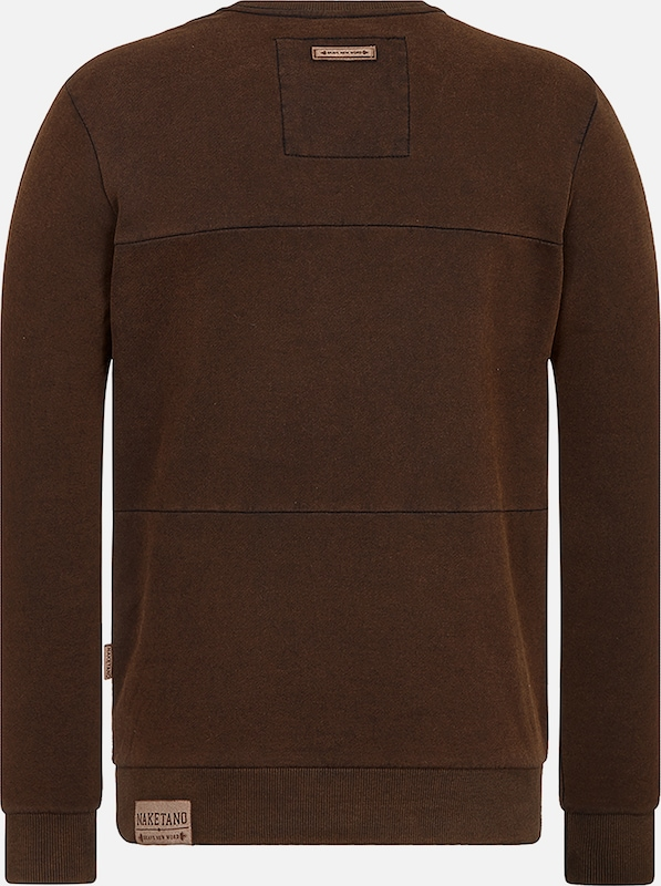 En Châtaigne shirt Sweat Marron Naketano nwN0yvmOP8