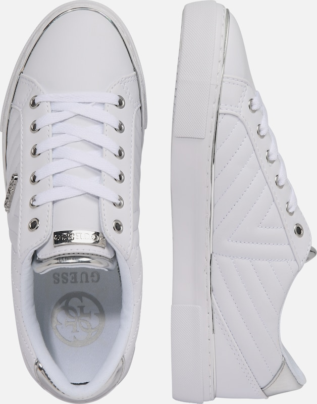 GUESS Sneakers laag 'GROOVIE' in Wit | ABOUT YOU