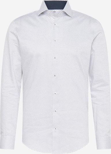 SEIDENSTICKER Poslovna srajca | modra / off-bela barva, Prikaz izdelka