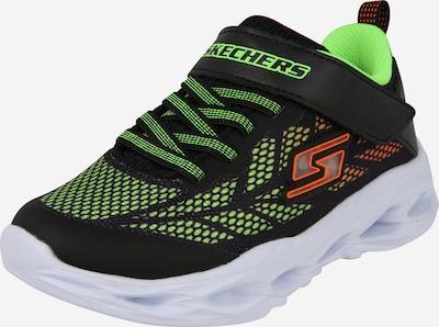 Sneaker 'VORTEX-FLASH' SKECHERS pe verde limetă / portocaliu / negru, Vizualizare produs