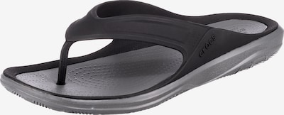 Crocs Swiftwater Wave Flip M Zehentrenner in schwarz, Produktansicht