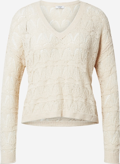 JACQUELINE de YONG Pullover in sand: Frontalansicht