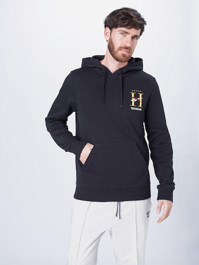 Reebok Classic Sweatshirt in schwarz: Frontalansicht