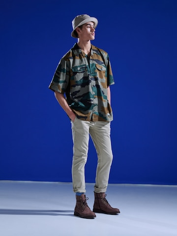 Casual Camouflage Outfit