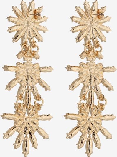 PIECES Oorbellen 'PCJOLIANA EARRINGS' in de kleur Goud: Achteraanzicht