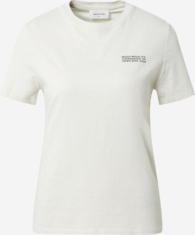 WOOD WOOD T-shirt 'Aria' in schwarz / weiß, Produktansicht