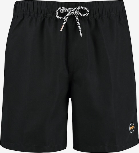 Shiwi Badehose 'Solid mike' in schwarz, Produktansicht