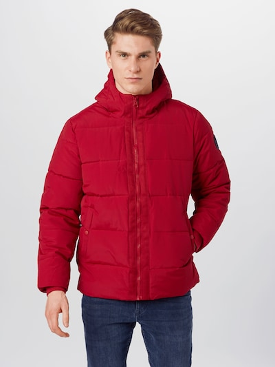 BURTON MENSWEAR LONDON Jscke 'RED ASPENUFFER' in rot: Frontalansicht