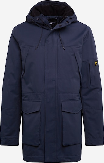 Lyle & Scott Winterparka in de kleur Navy, Productweergave