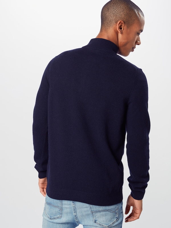 Lyle & Scott Pullover in navy: Rückansicht